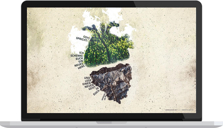 Kostenloser Download Jahreslosung 2017 als Desktop Wallpaper — undarstellbar.de