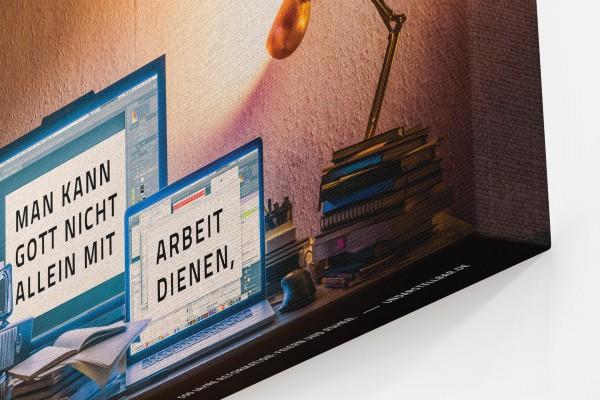 500 Jahre Reformation — Zitat von Martin Luther — undarstellbar