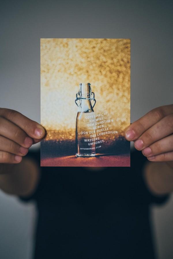 Jahreslosung 2018 Postkarte