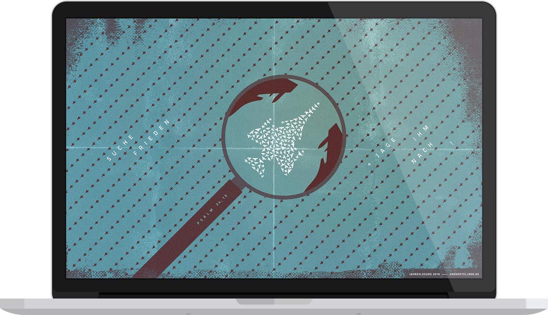 Desktop Wallpaper Vorschau Jahreslosung 2019 von undarstellbar